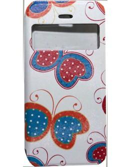 Калъф DeTech за iPhone 6/6S, Кожа изкуствена, Кожа, Многоцветен  - 51153