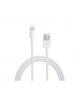 Кабел за данни DeTech USB - Lightning, iPhone 5/5s: 6,6S / 6plus,6S plus, 1m - 14045
