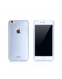 Протектор за iPhone 6/6S Plus, Remax Jorya, TPU, Slim, Сребрист - 51403