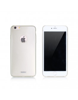 Протектор за iPhone 6/6S Plus, Remax Jorya, TPU, Slim, Златист - 51402