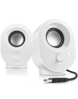 Speedlink SNAPPY Stereo Speakers, 4W RMS output