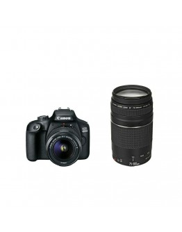 Canon EOS 4000D, black + EF-s 18-55 mm DC III + EF
