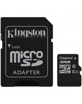 Kingston 32GB micSDHC Canvas Select Plus 100R A1