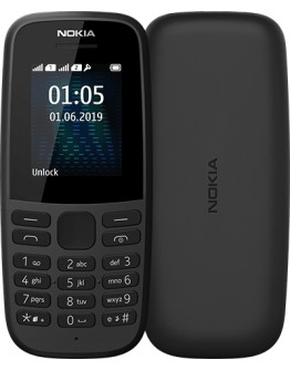 NOKIA 105 DS BLACK 2019