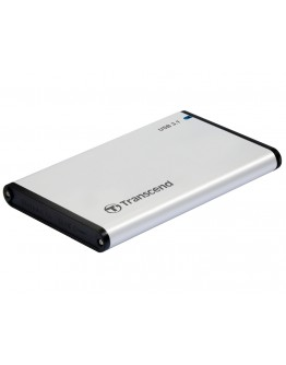 Transcend 0GB StoreJet 2.5 (SATA), USB 3.1, Alumin