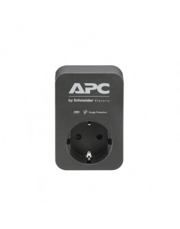 APC Essential SurgeArrest 1 Outlet Black 230V Germ