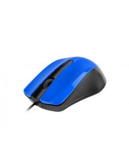 uGo Mouse UMY-1215 optical 1200DPI, Blue-Black