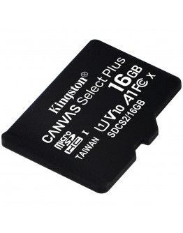 Kingston 16GB micSDHC Canvas Select Plus 100R A1