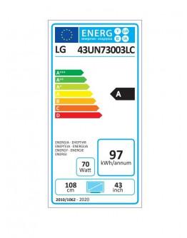Телевизор LG 43UN73003LC, 43 4K IPS UltraHD TV 3840 x 2160,