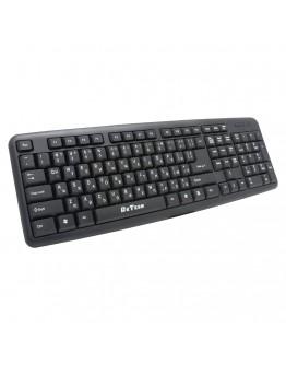 Клавиатура DeTech DE6082, USB, Кирилизирана, Черен - 6082