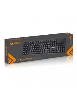 Клавиатура Mixie X6, USB, Черен - 6121