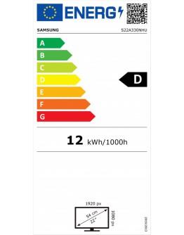 Монитор Samsung 22A330 , 22 VA LED, 60 Hz, 6.5 ms GTG, 192